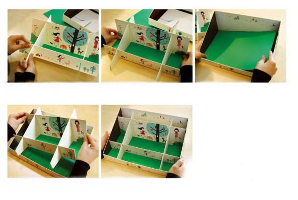 Kết quả hình ảnh cho làm hộp đựng đồ tại bàn làm việc