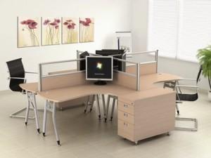 Bàn chân sắt dành cho văn phòng hiện đại
