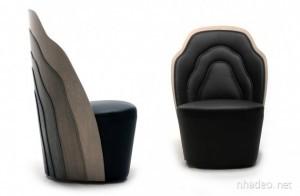 Thiết kế nội thất độc đáo với công nghệ khâu gỗ như khâu vải