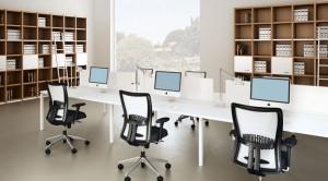 Bố trí văn phòng làm việc hiện đại cho văn phòng nhỏ và vừa