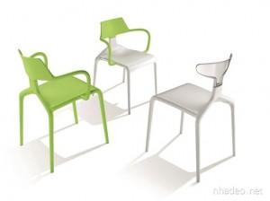 Ghế xếp cao cấp nhiều màu sắc