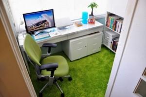 Không gian làm việc thân thiện với môi trường sống