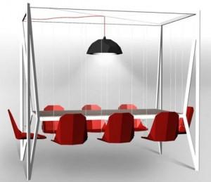 Bộ bàn có thiết kế dành cho 8 người