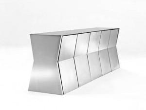 Bộ bàn có vẻ ngoài thời trang với sức chứa lớn và tiết kiệm diện tích