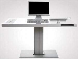 Những mẫu bàn làm việc độc đáo mang nhiều nét cá tính