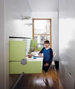 Những mẫu nội thất siêu gọn cho căn phòng nhỏ