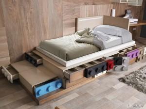 Giường ngủ Lego