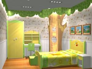 Tân trang phòng bé đón nắng hè