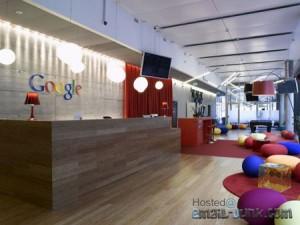 Không gian thân thiện và sáng tạo của Google