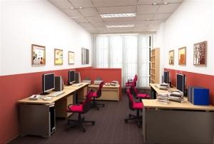 Thiết kế nội thất văn phòng yếu tố ảnh hưởng trực tiếp tới công việc