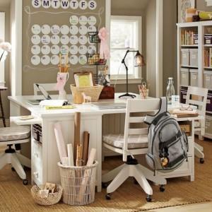 Phòng làm việc dành cho tuổi teen