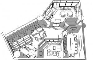 Thiết kế trọn gói Nội thất văn phòng