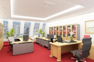 Thiết kế văn phòng đẹp mới mẻ hợp lý