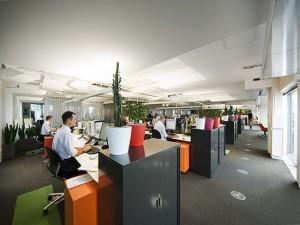 Thiết kế văn phòng kiểu mẫu