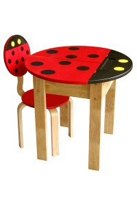 Xinh xinh những chiếc bàn học hình thú cho bé học tại nhà